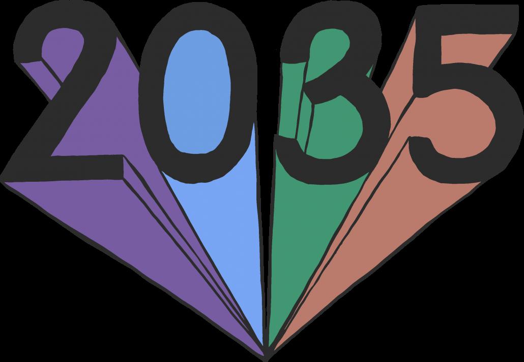 Project 2035 logo | Designed by Ida Henrich