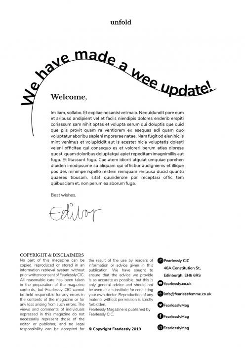 Magazine design layout experimentation | By Ida Henrich