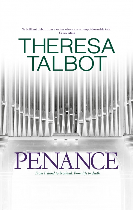 Theresa Talbot's Penance book cover | Design and photographed by Ida Henrich