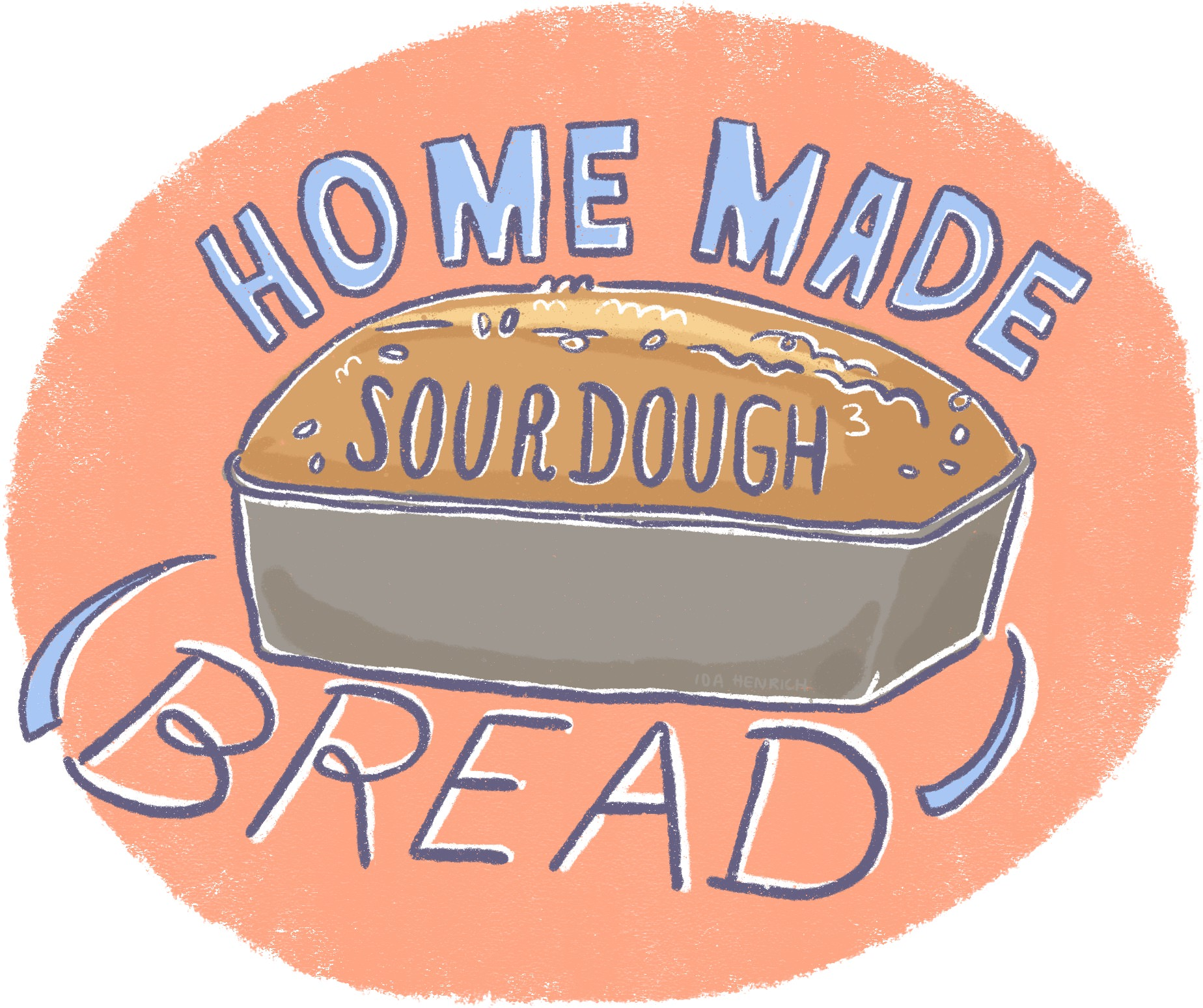 Home made Sourdough | By Ida Henrich