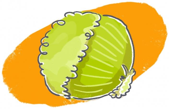 Salat head | By Ida Henrich