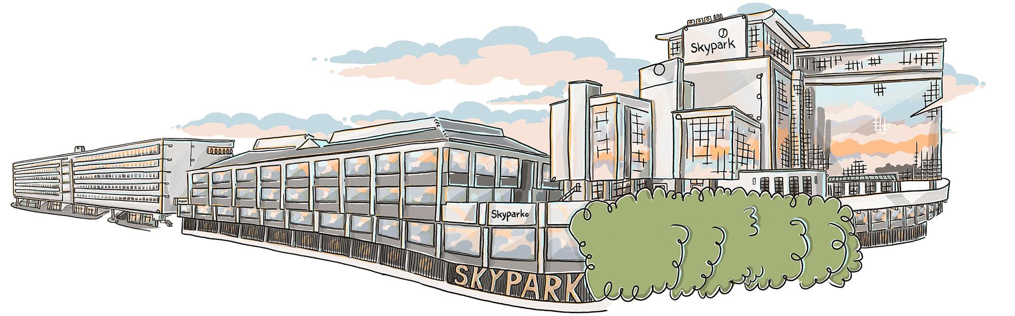 Skypark building 1-6, Glasgow | ©Ida Henrich