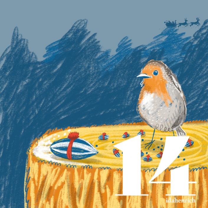 Craft and recipe advent calendar by Ida Henrich